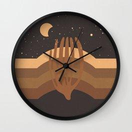 Desert Moon Phase IV Wall Clock