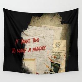 Murder Board Wall Tapestry