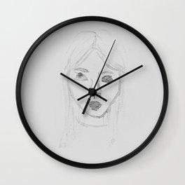 Water Girl Wall Clock
