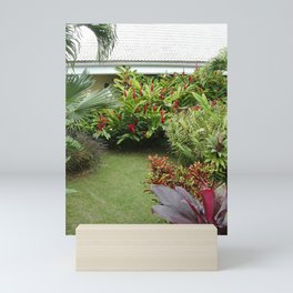 Tropical Plants 3 Mini Art Print