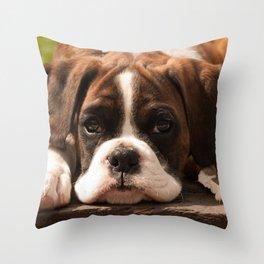 Alfie II Throw Pillow