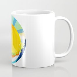 Wheel Series : Summer Solstice Medallion Coffee Mug