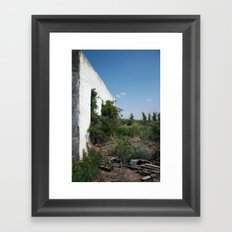 balmorhea, texas structure Framed Art Print