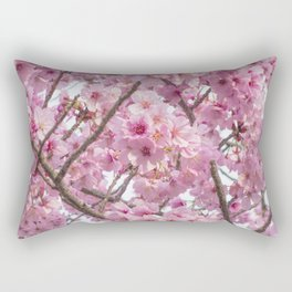Cherry Blossom in spring Rectangular Pillow