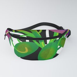 Vase with Flowers Fanny Pack