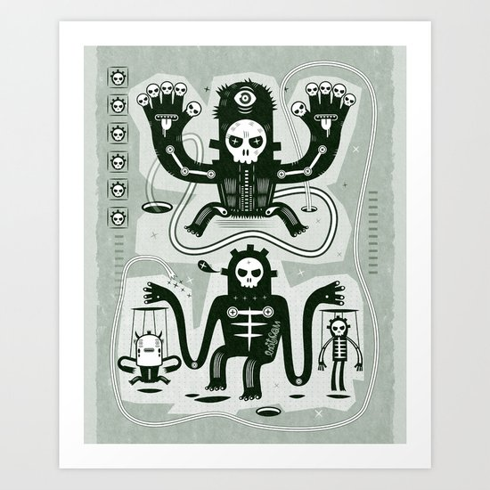 Chamanistik Art Print