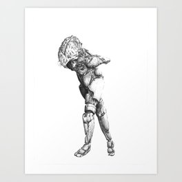 Automa II Art Print