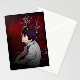 Rin and Kuro  Stationery Cards