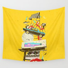 LA PSYCH ADVERT Wall Tapestry