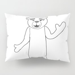 Cute From The Outside But Dead Inside Pillow Sham
