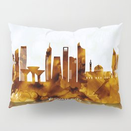 Kuwait City Kuwait Skyline Pillow Sham