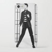 elvis presley iPhone & iPod Cases featuring Elvis Presley by Neon Monsters
