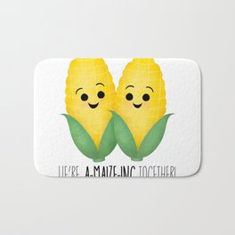 We're A-Maize-ing Together! Bath Mat