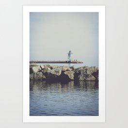 The Lighthouse 3 Art Print