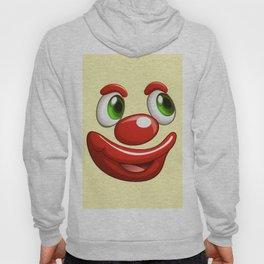 Design 479 - clown face Hoody