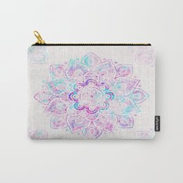 Winter Fiery Mandala Carry-All Pouch