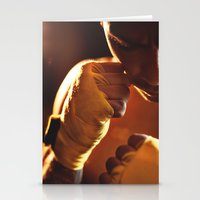 fight Stationery Cards featuring Fight. by Alexey & Julia