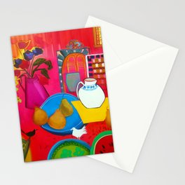Blue Plate  Stationery Cards