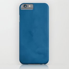 Saltwater Taffy Teal Watercolor iPhone Case