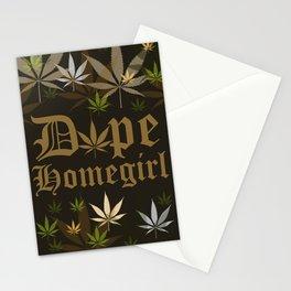 Dope Homegirl Classic Stationery Cards