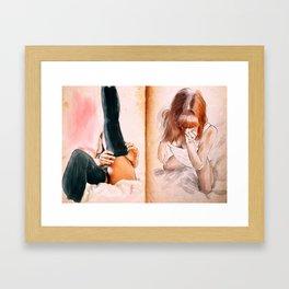 """sketch_11.02.15"" Framed Art Print"