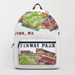 Fenway Park Baseball Stadium Backpack