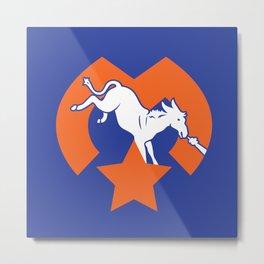 Denver Donkeys   Metal Print