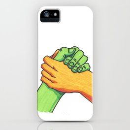 Hey Brother iPhone Case