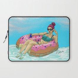 Donut Floatie - Color Laptop Sleeve