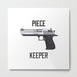 Desert Eagle Piece Keeper Metal Print
