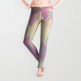 Lotus Flower Pastel Meditation Yoga Symbol Leggings