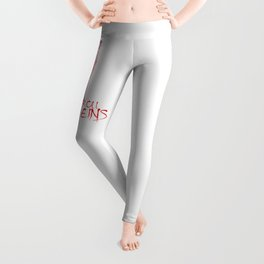 Rock and Roll in my veins Leggings