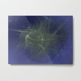 Electronic Caress Metal Print