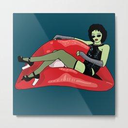 Rocky Horror Alien Show Metal Print