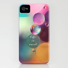life is sweet Slim Case iPhone (4, 4s)