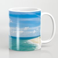 portugal Mugs featuring Nazaré, Portugal. by jmiguel