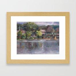 Lambertville Vista Framed Art Print