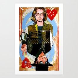 River/MJ Art Print