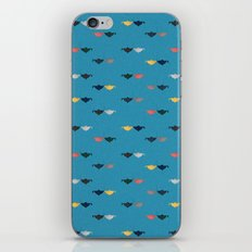 Hooked on you pattern iPhone & iPod Skin