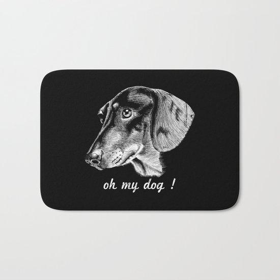 oh my dog ! Bath Mat