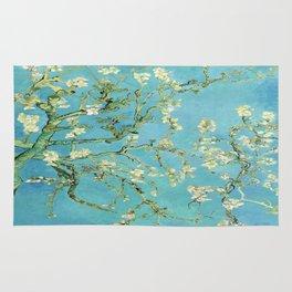 Vincent Van Gogh Almond Blossoms Rug