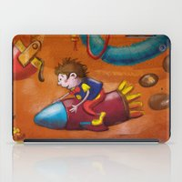 rocket iPad Cases featuring Rocket by András Balogh