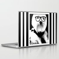 ewok Laptop & iPad Skins featuring Ewok. A dogs Life  by Kristy Patterson Design