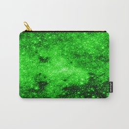 galaxy Stars 3 Bright Green Carry-All Pouch