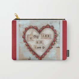 So Loved - by Diane Duda Carry-All Pouch