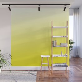 Simply sun yellow color gradient - Mix and Match with Simplicity of Life Wall Mural