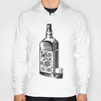 hemingway Hoodies featuring Write Drunk. Edit Sober by Ryan Huddle House of H