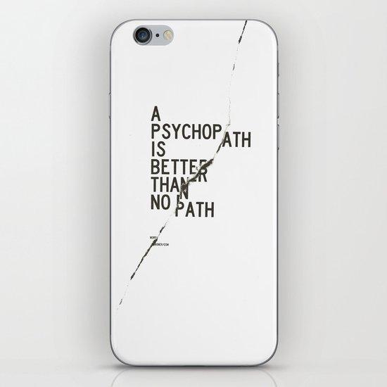 Psychopath iPhone & iPod Skin