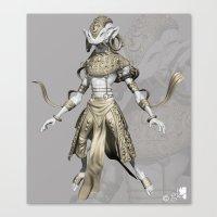 sci fi Canvas Prints featuring sci-fi by guru8