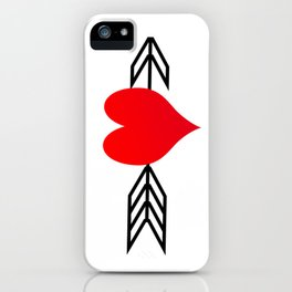 Cupid's Arrow iPhone Case